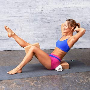 Lean Back exercise