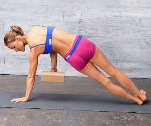 Side Plank Variation exercise