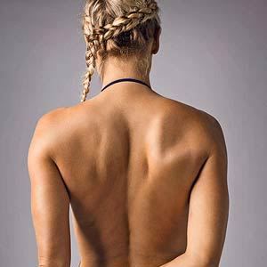 Triathlete Amanda's back