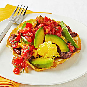 Scrambled Egg Tostada