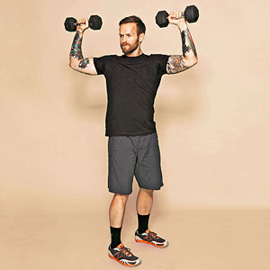 Dead Lift with a Twist exercise