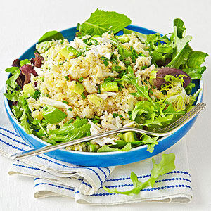 Crab-and-Quinoa Salad With Citrus Vinaigrette recipe