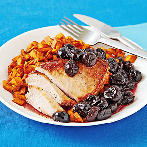 Pork With Cherry Chutney recipe