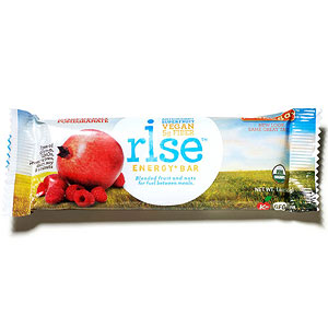 Rice Raspberry-Pomegranate Energy + Bar