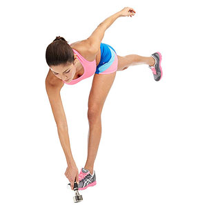 Tap and Curl exercise