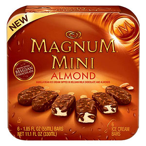 Magnum Mini Almond Ice Cream Bars