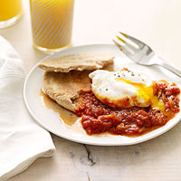 Marinara-Poached Egg