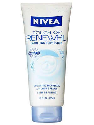 Nivea body scrub