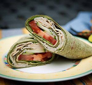 Cheesy Chicken Wrap