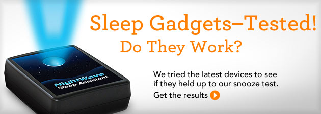 Sleep Gadgets - Tested! Do They Work?