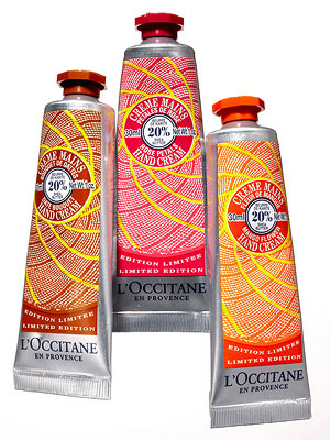 L'Occitane Limited-Edition Shea Butter Hand Cream Bouquet trio