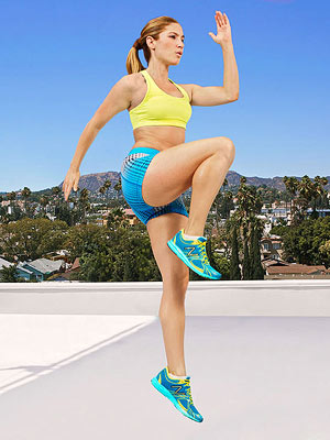 Screamer Lunge exercise