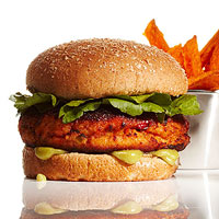 Asian Salmon Burger