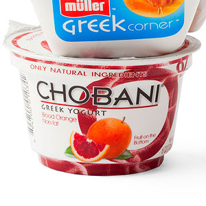 Chobani Blood Orange Greek Yogurt