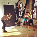 fitness photo shoot