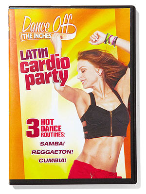 Dance off the inches workout dvd