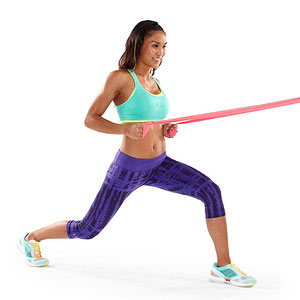 Lunge and Row exercise