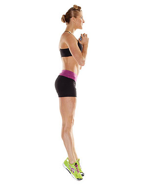 Power Deck Squat exercise