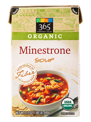 365 Everyday Value Organic Minestrone Soup