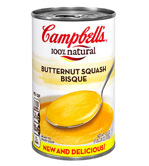Campbell's 100% Natural Butternut Squash Bisque