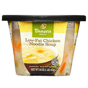 Panera Low-Fat Chicken Noodle Soup