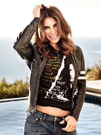 Jillian Michaels in her favorite t-shirt