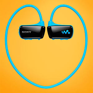 The Sony W Series Sports Walkman headphones