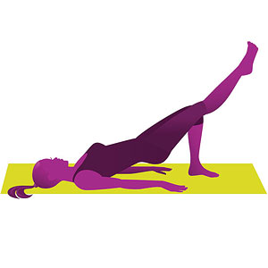 Glute Buster yoga pose