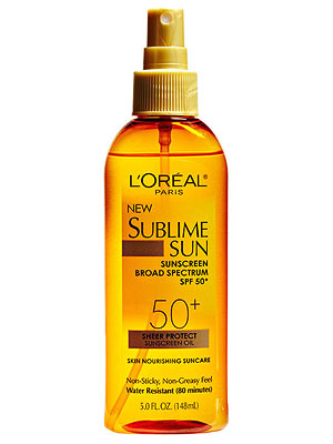 L'Oreal Paris Sublime Sun Sheer Protect Sunscreen Oil SPF 50+