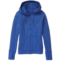 Athleta Slub Strength Blue Hoodie