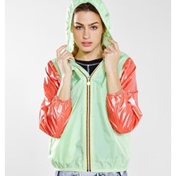 K-Way Windbreaker Jacket