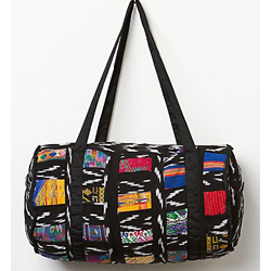 Free People Patchwork Duffle