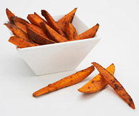 Fat-Free Sweet Potato Fries