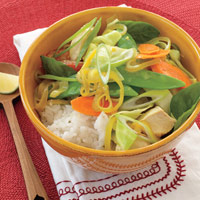 Thai-Style Chicken Coconut Curry