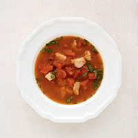 Tomato and Turkey Soup