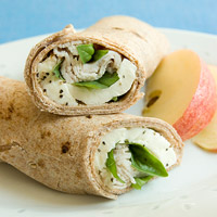 Turkey, Mozzarella & Basil Wrap