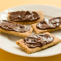 Dark-Chocolate-Covered Graham Crackers