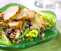 Grilled Chicken and Rice Salad