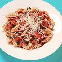 Italian Sausage & Veggie Pasta