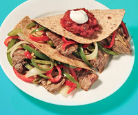 Steak & Pepper Tacos