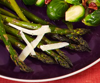 Lemon-Roasted Asparagus With Parmesan