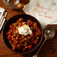 Sweet Potato and Pork Chili