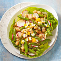 Chickpea and Asparagus Salad