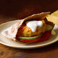 Skillet-Seared Chickpea-Bulgur Burgers