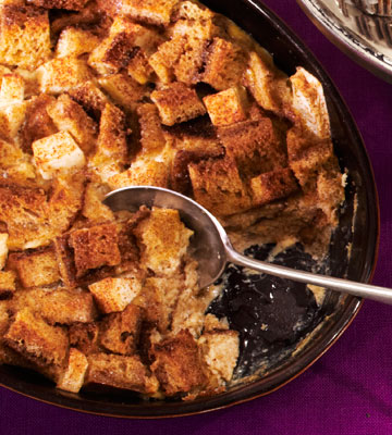 Apple-Cinnamon Bread Pudding | Fitness Magazine
