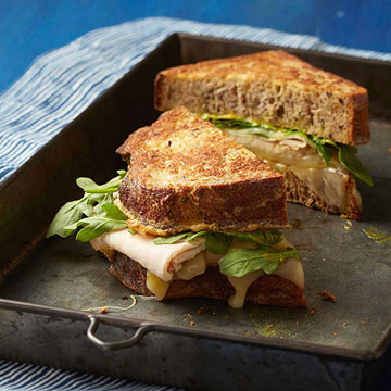 ... French Toast Sandwiches With Turkey and Swiss | Fitness Magazine
