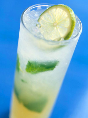 Light rum, lime, and fresh mint make this classic drink perfect for...