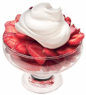Strawberries and Cream