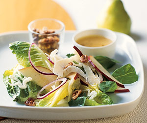 Arugula-Fennel Salad with Pear Vinaigrette