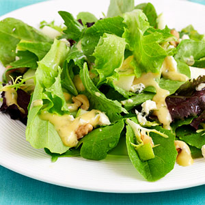 Fall Salad With Herbed Apple-Cider Dressing